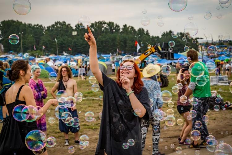 Woodstockowicze fot.Michał Kwaśniewski