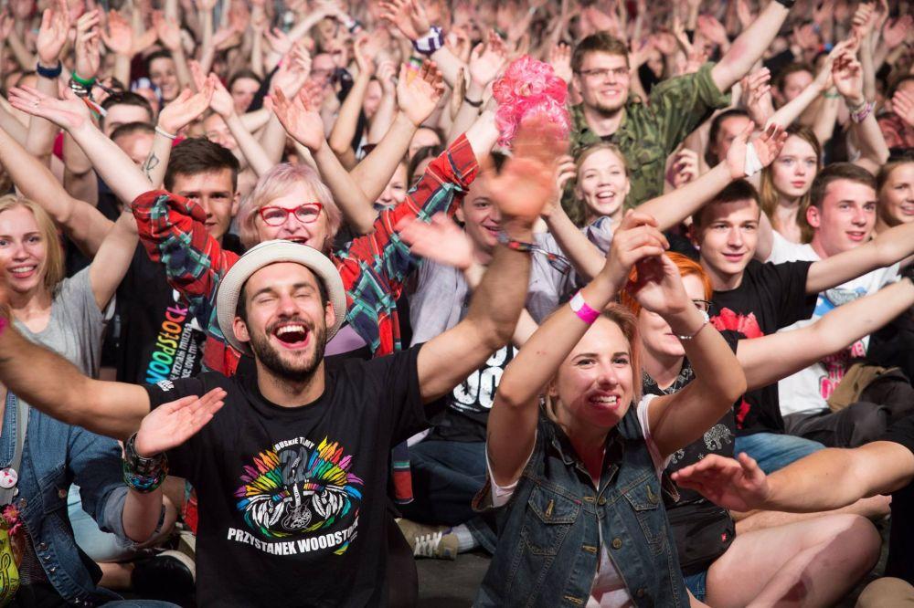 Publiczność Najpiękniejszego Festiwalu Świata, fot. Fundacja WOŚP
