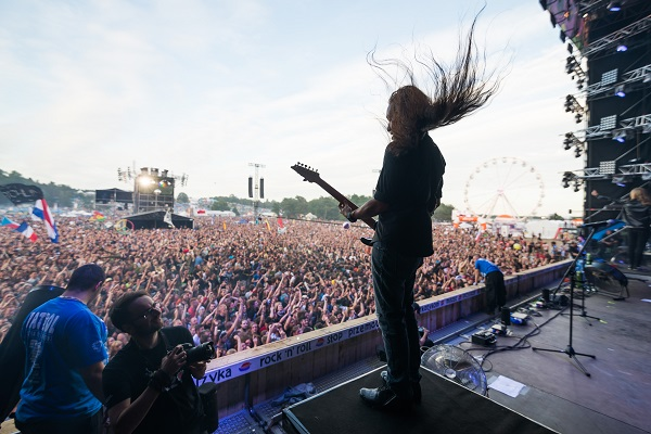 Dragonforce at 22nd Woodstock Festival Poland - photo Damian Mekal