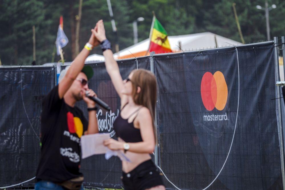Strefa Mastercard podczas 23. Przystanku Woodstock fot. Piotr Barbachowski
