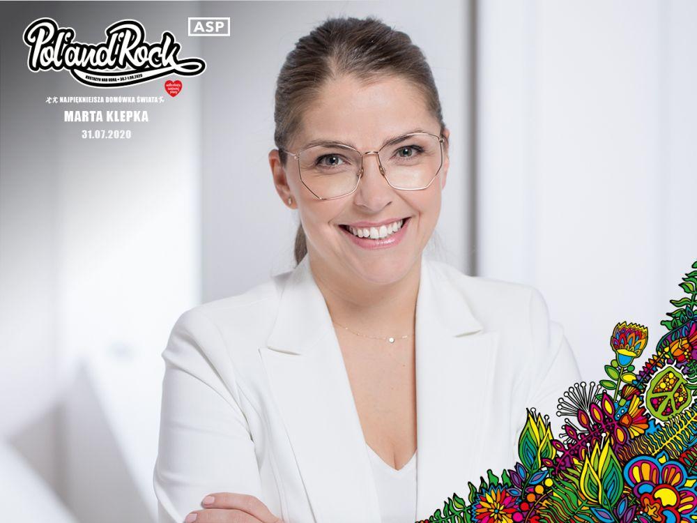 Marta Klepka gościem ASP podczas 26. Pol'and'Rock ONLINE - Najpiękniejszej Domówki Świata