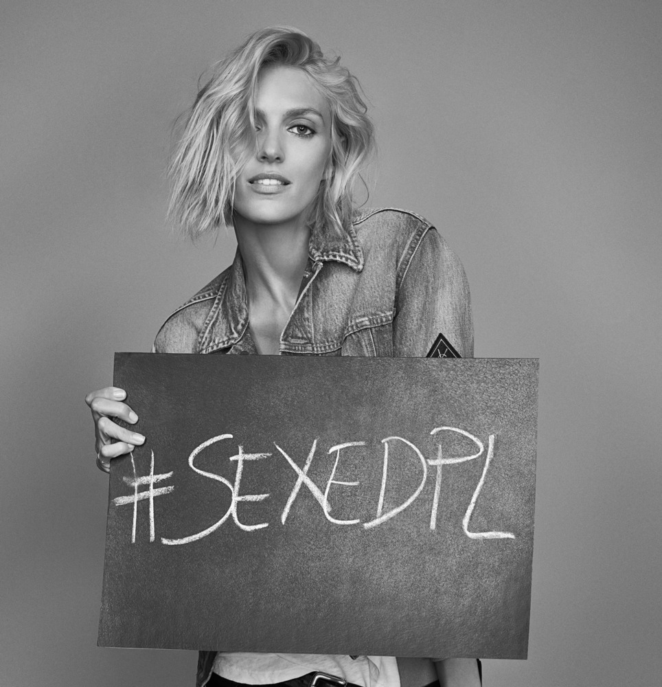 Anja Rubik i jej kampania #sexedpl