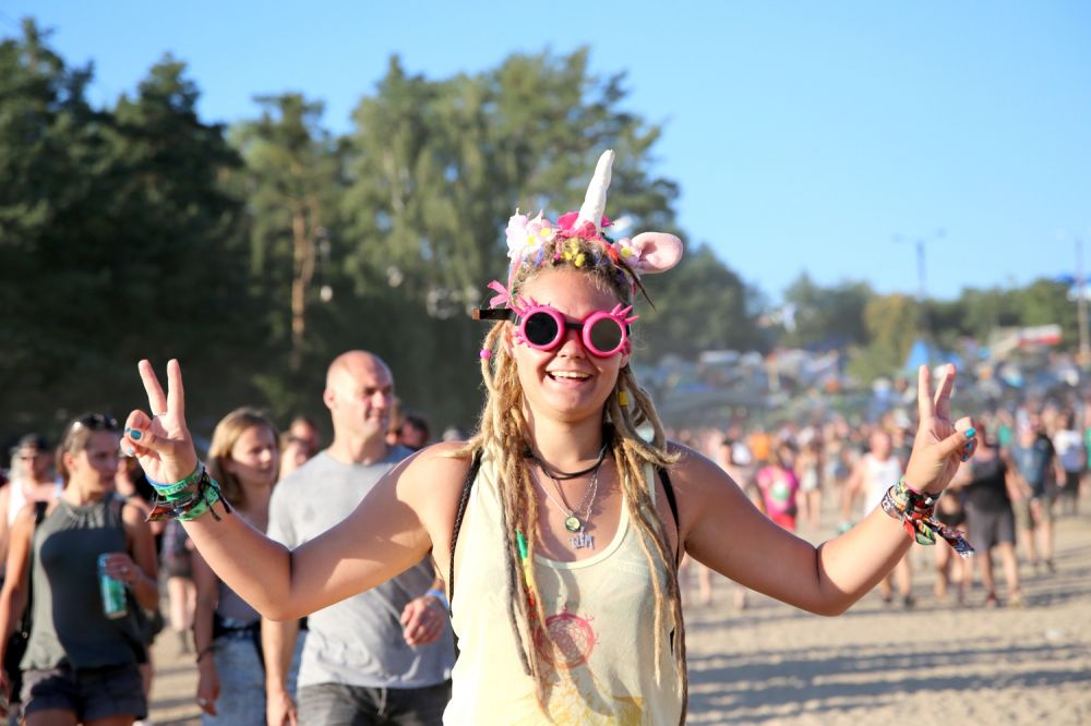 Everyone's happy at Pol'and'Rock! Photo credit: Agnieszka Janowska