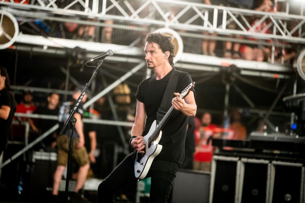 Joe Duplantier. Photo credit: Damian Mekal