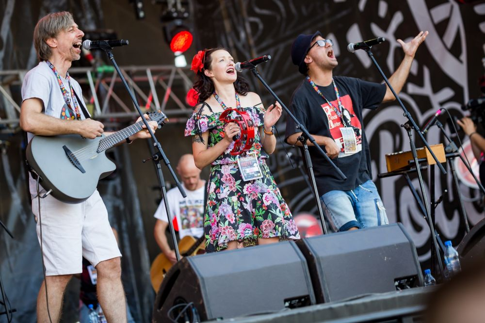 Happy, creative, talented. Na Górze at Pol'and'Rock. Photo credit: Michał Kwaśniewski