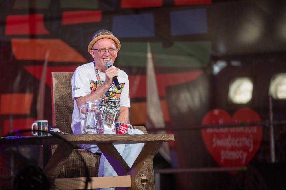 Artur Barciś na spotkaniu na ASP Fot. Lucyna Lewandowska