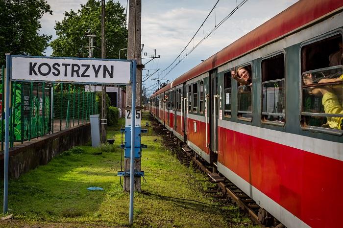 Kostrzyn nad Odrą train station. photo: M. Kwaśniewski
