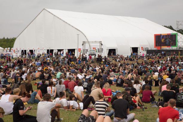 AFA Big Tent, photo by Lucyna Lewandowska