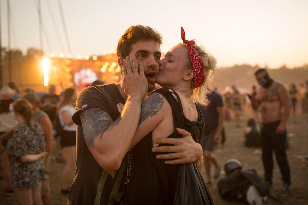 Festiwalowa miłość. fot. Lucyna Lewandowska