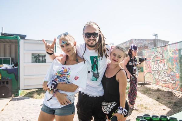Miasteczko Leszka na Pol'and'Rock Festival 2018 fot. Dominik Malik