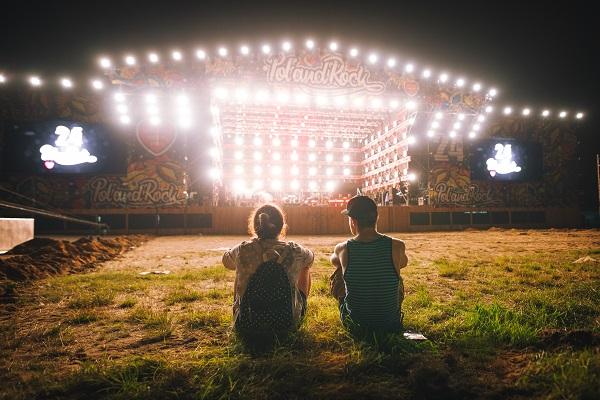 Duża Scena na Pol'and'Rock Festival. fot. Anna Migda