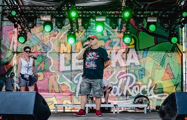 Scena Lecha na Pol'and'Rock Festival 2018 fot. Dariusz Bres