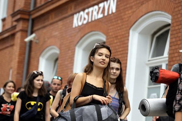 Dworzec w Kostrzynie nad Odrą fot. Igor Kohutnicki
