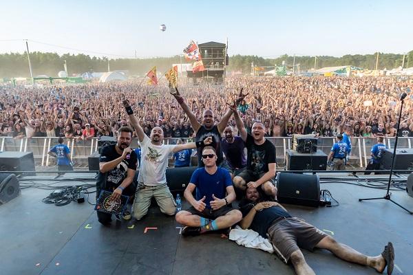 Łydka Grubasa na Pol'and'Rock Festival 2018 fot. Michał Kwaśniewski