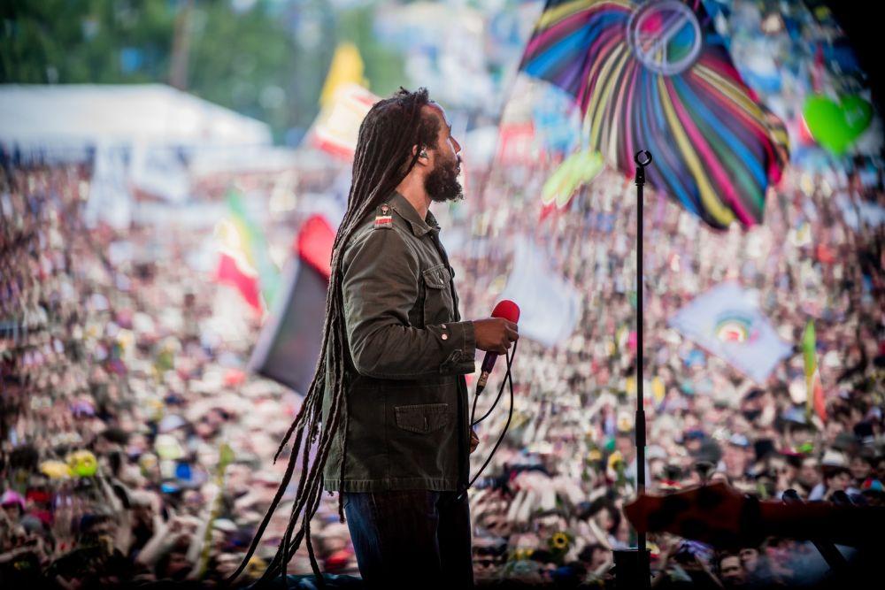 Ziggy Marley auf der Groβen Bühne des 25. Pol'and'Rock Festivals fot. Bartek Muracki