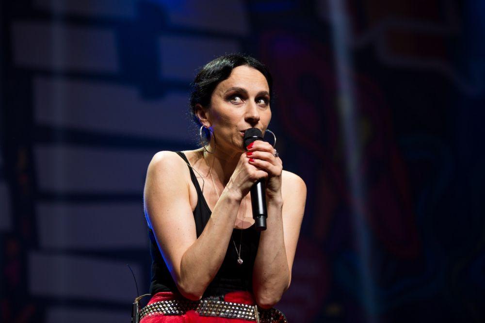 Renata Przemyk na Nocnej Scenie ASP świętowała 30. lecie swojej twórczości fot. Basia Lutzner