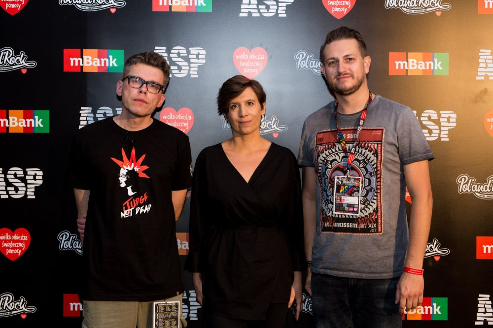 Spotkanie z Igorem Tuleyą i Justyną Kopińską fot. Basia Lutzner