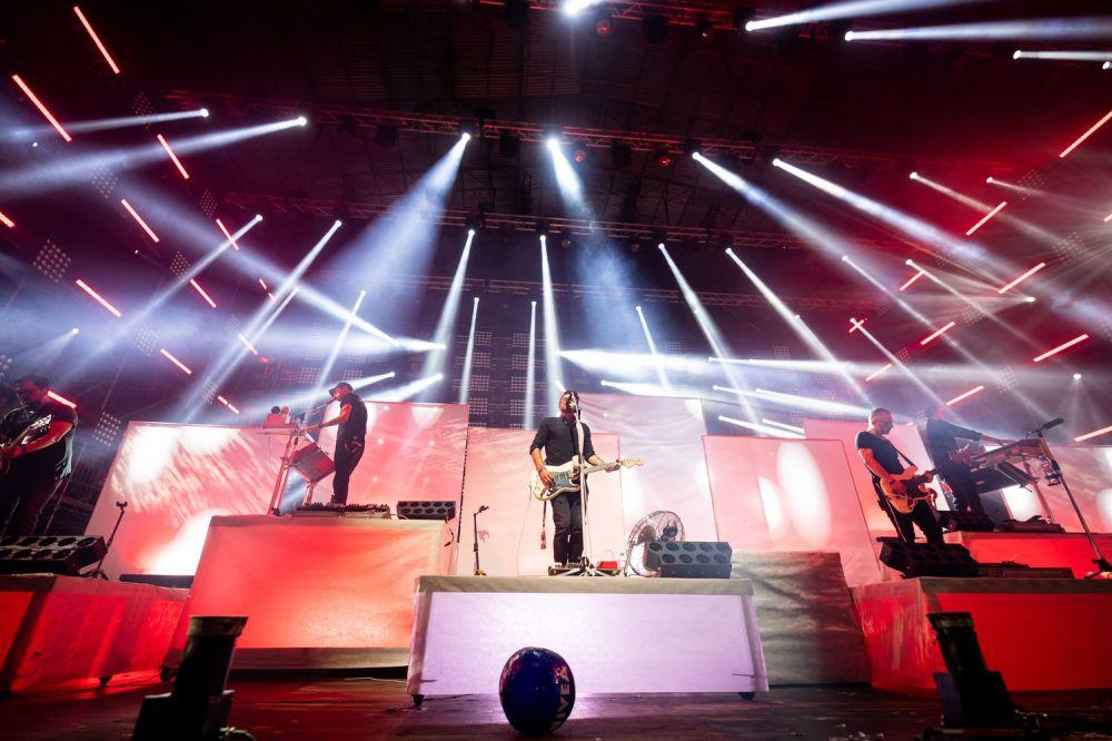 Happysad auf der Groβen Bühne des Pol'and'Rock Festivals 2019 fot. Damian Mekal