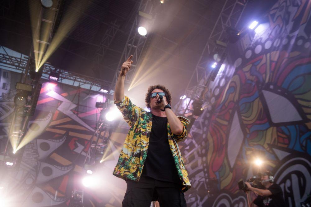 Sidney Polak auf der Kleinen Bühne, fot. Dominik Malik