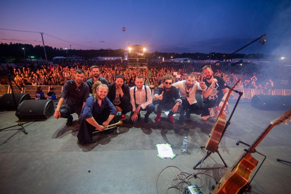 Zespół Przybył na Małej Scenie Najpiękniejszego Festiwalu Świata fot. Dominik Malik