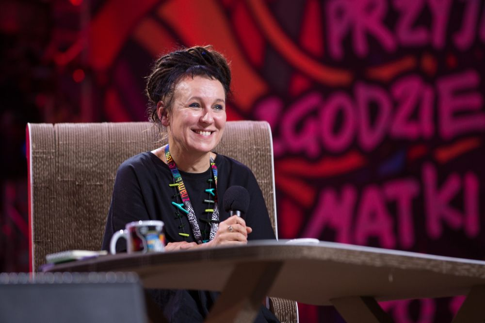Olga Tokarczuk na Najpiękniejszym Festiwalu Świata fot. Lucyna Lewandowska
