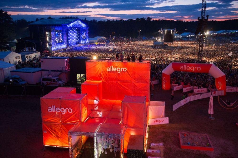 Stefa Allegro na 25. Pol'and'Rock Festival fot. Lucyna Lewandowska