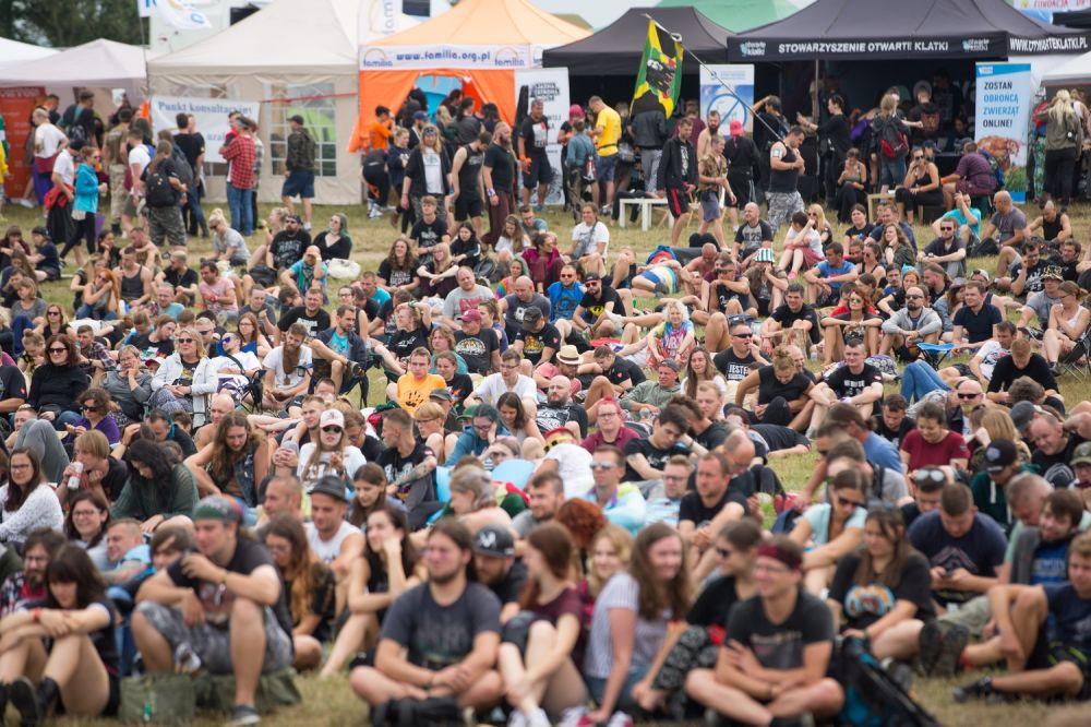 Zobaczcie, jak wielu Was było pod Dużym Namiotem ASP! fot. Lucyna Lewandowska