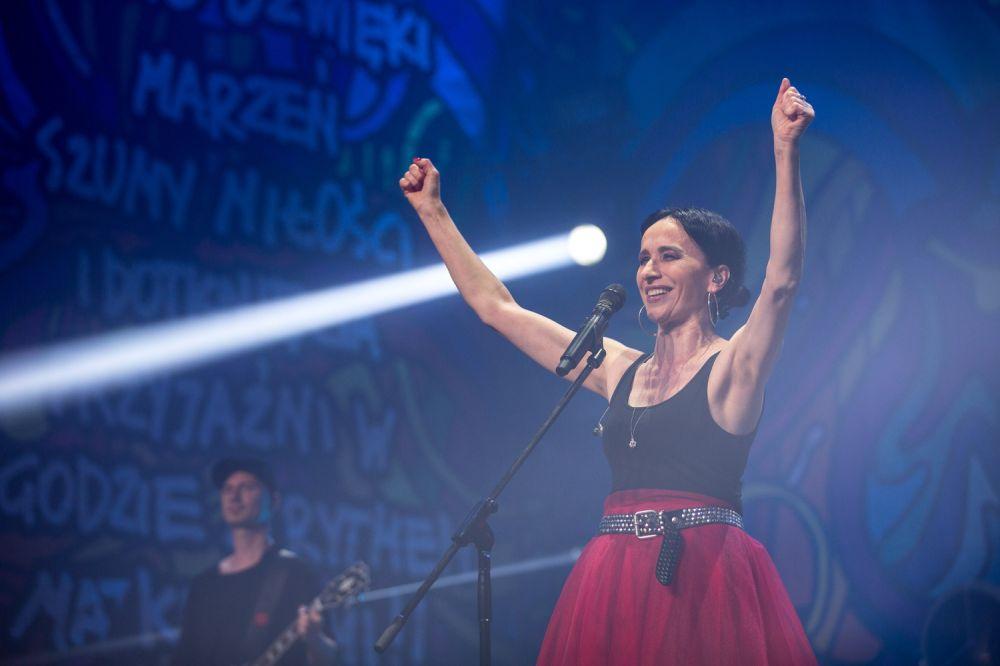 Koncert Renaty Przemyk na Nocnej Scenie ASP był zachwycający fot. Lucyna Lewandowska