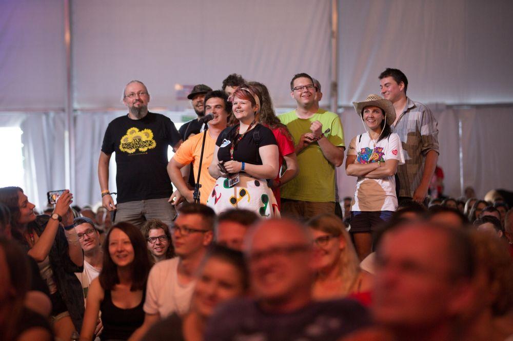 Publiczność miała wiele pytań do Mariusza Szczygła i Filipa Springer fot. Lucyna Lewandowska