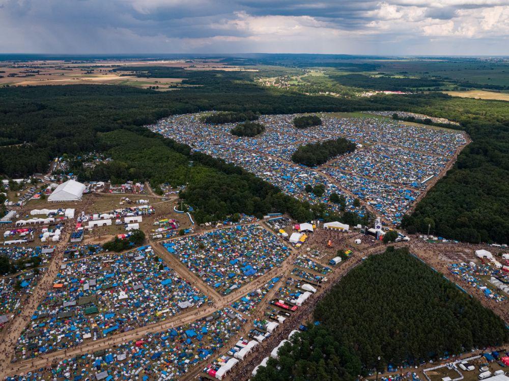 Pol'and'Rock Festival Field, photo by Łukasz Widziszowski