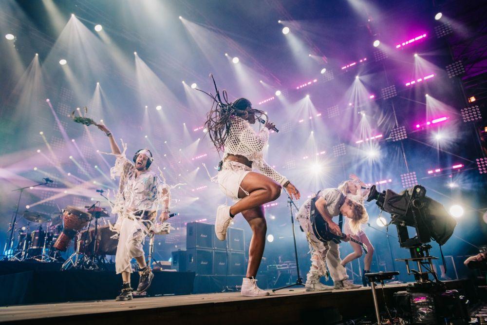 Crystal Fighters zagrali piękny koncert fot. Marcin Michoń