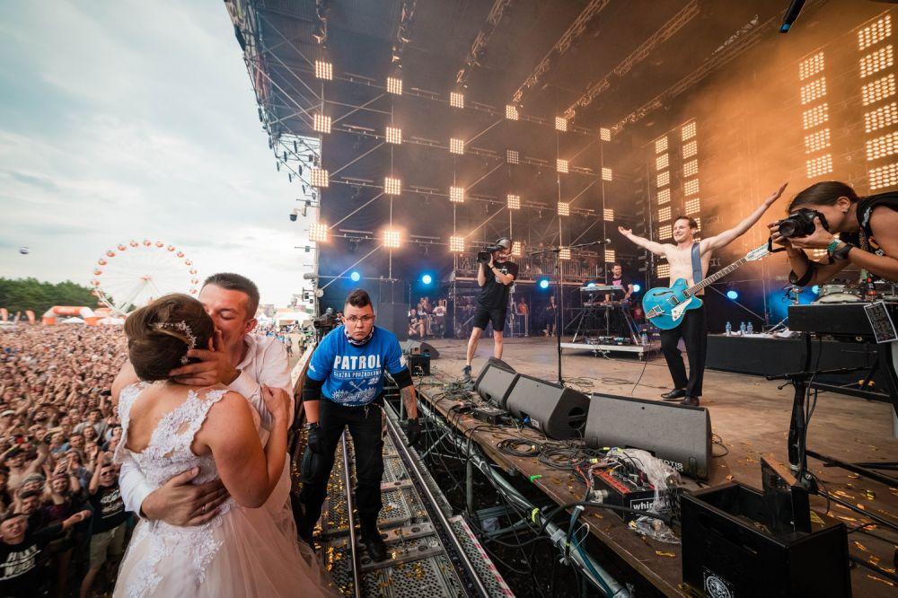 """""""Yes, I do"""" with Krzysztof Zalewski Pol'n'Rock Festival 2019, photo by Marcin Michoń"""