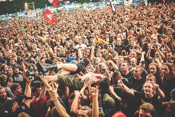 Publiczność 25. Pol'an'Rock Festival, fot. Ola Drutkowska