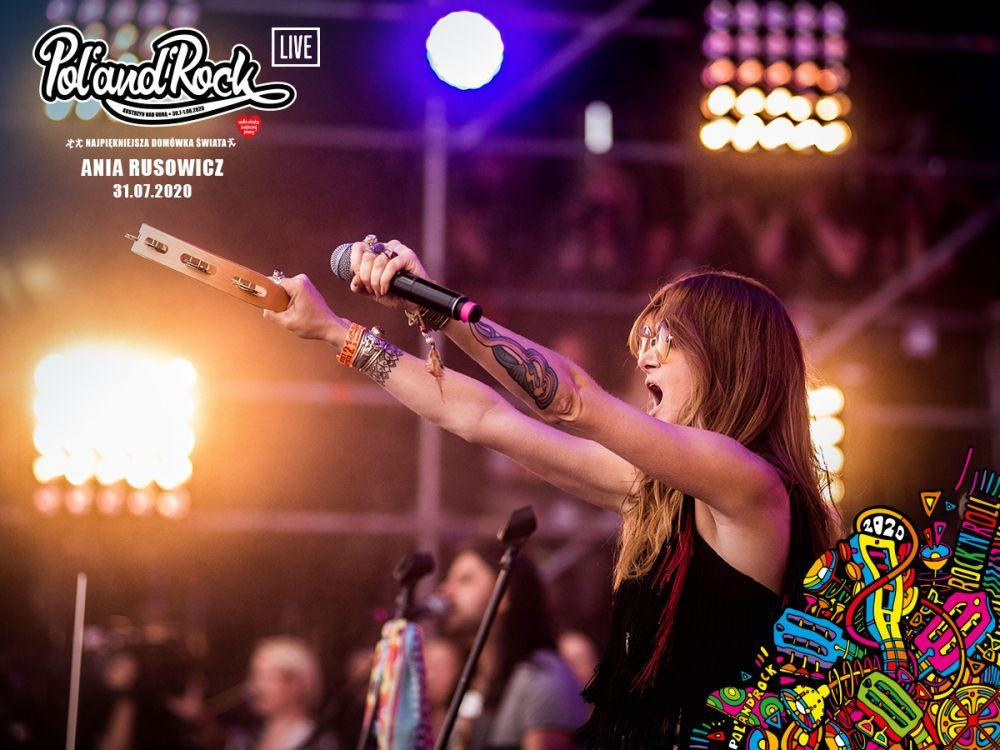 Ania Rusowicz na Przystanku Woodstock 2015. fot. Bartek Muracki