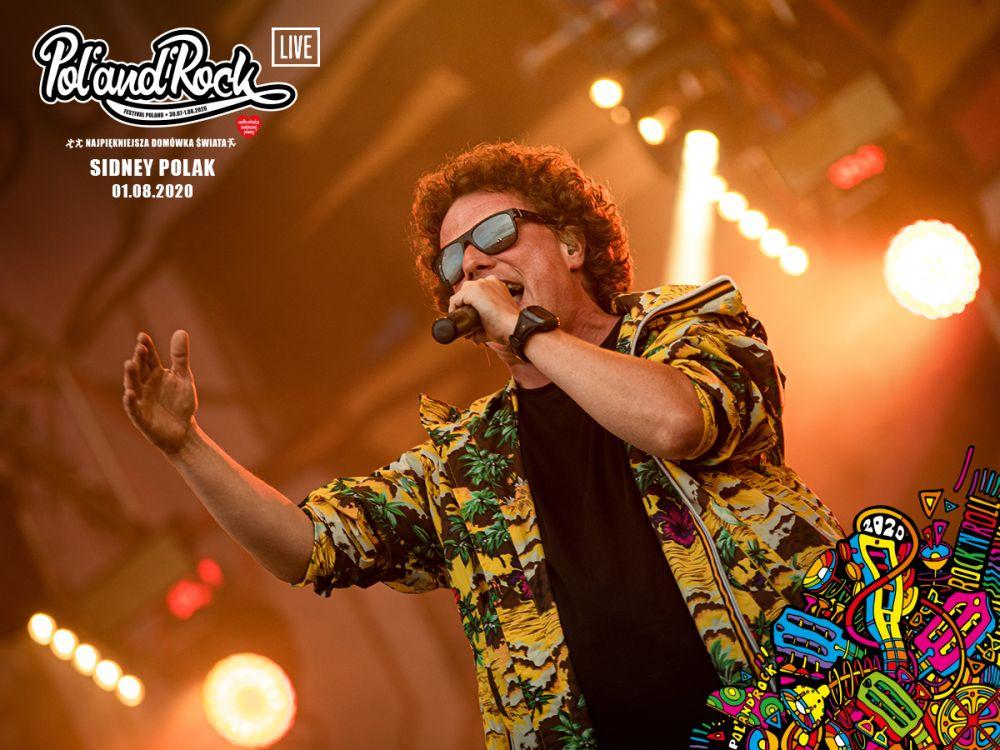 Sidney Polak na Pol'and'Rock 2019. fot. Damian Jędrzejewski
