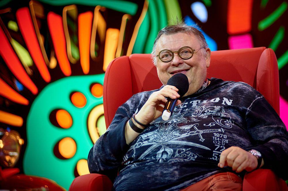 Wojciech Mann na Akademii Sztuk Przepięknych fot. Ola Drutkowska