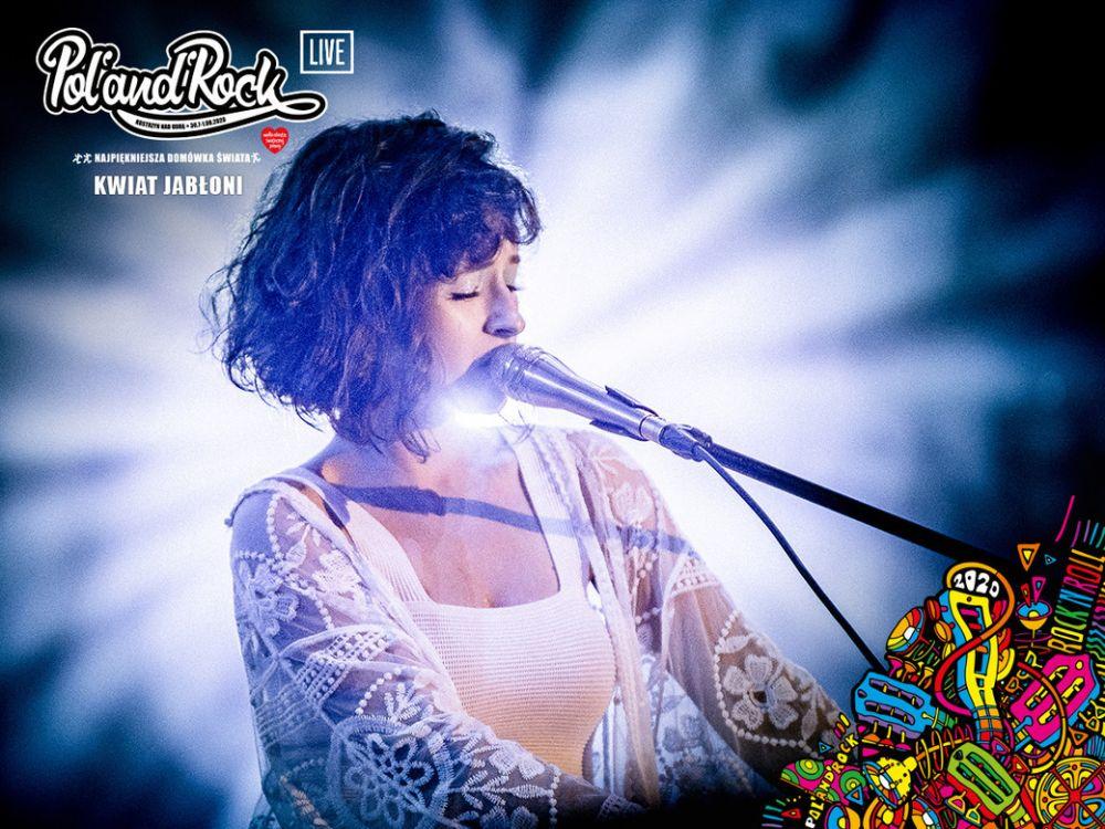 Kasia Sienkiewicz - Kwiat Jabłoni na Pol'and'Rock Festival 2019. fot. Bartek Muracki