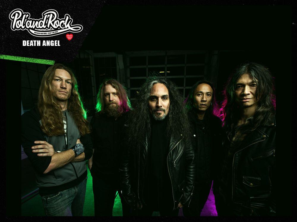 Death Angel. fot. materiały prasowe zespołu