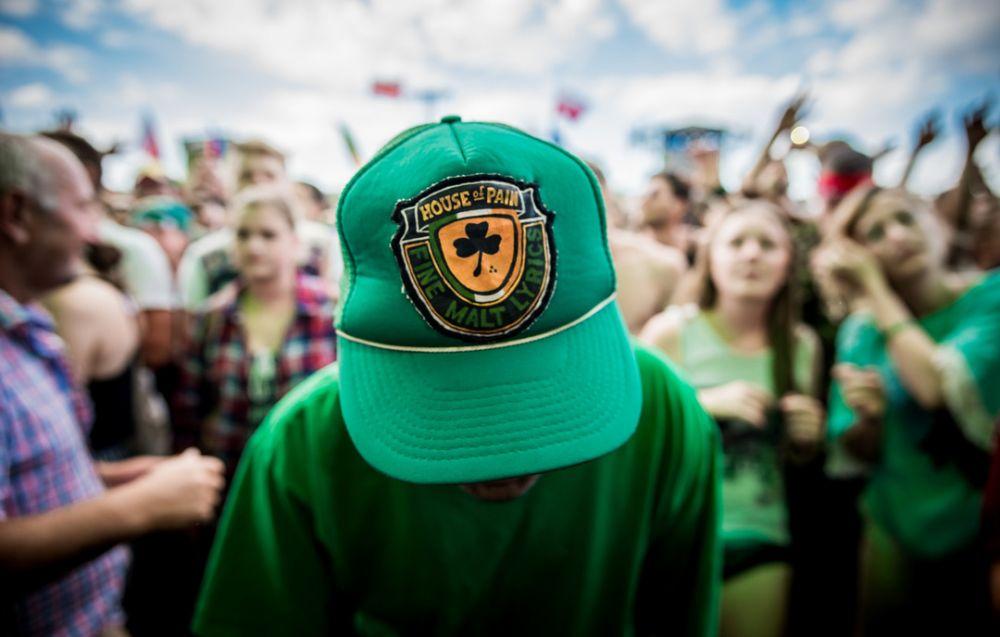 House of Pain fan sporting their merch. fot. Marcin Michon