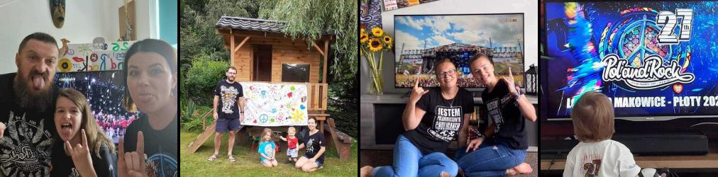 Festiwalowicze na domówkach na całym świecie