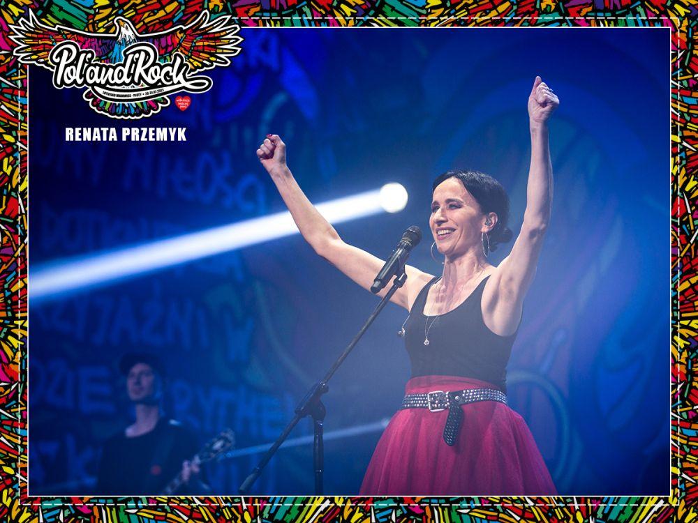Renata Przemyk na koncercie na ASP. fot. Lucyna Lewandowska