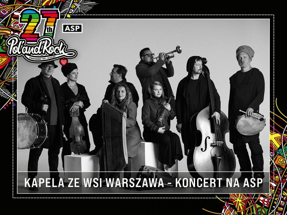 Kapela ze Wsi Warszawa.fot. Radek Polak