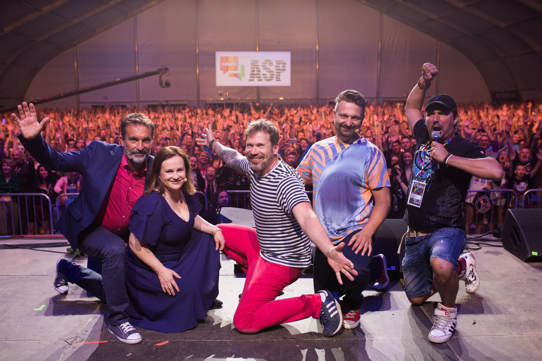Kabaret Hrabi na Pol'and'Rock Festival 2019, fot. Basia Lutzner