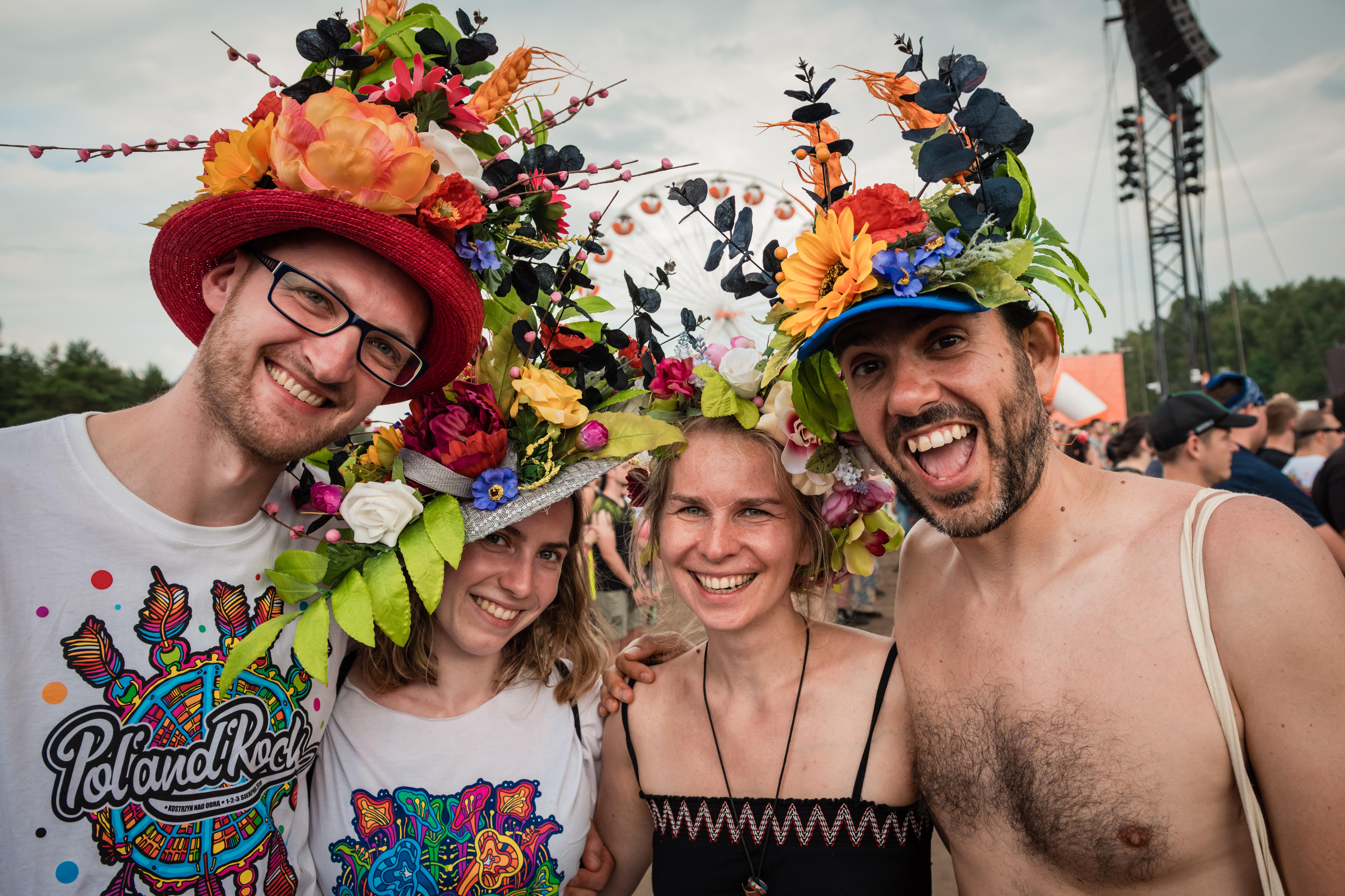 Pol'and'Rock festival goers, Photographer Marcin Michoń