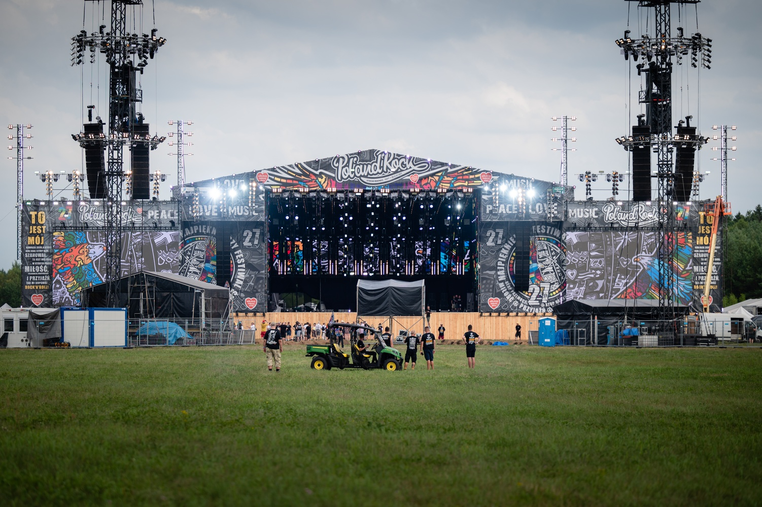 This year's stage of the Most Beautiful Festival of the World, Photographer Marcin Michoń