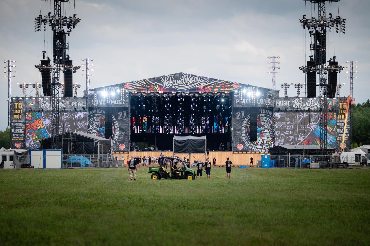 Scena Najpiękniejszego Festiwalu Świata. fot. Marcin Michon