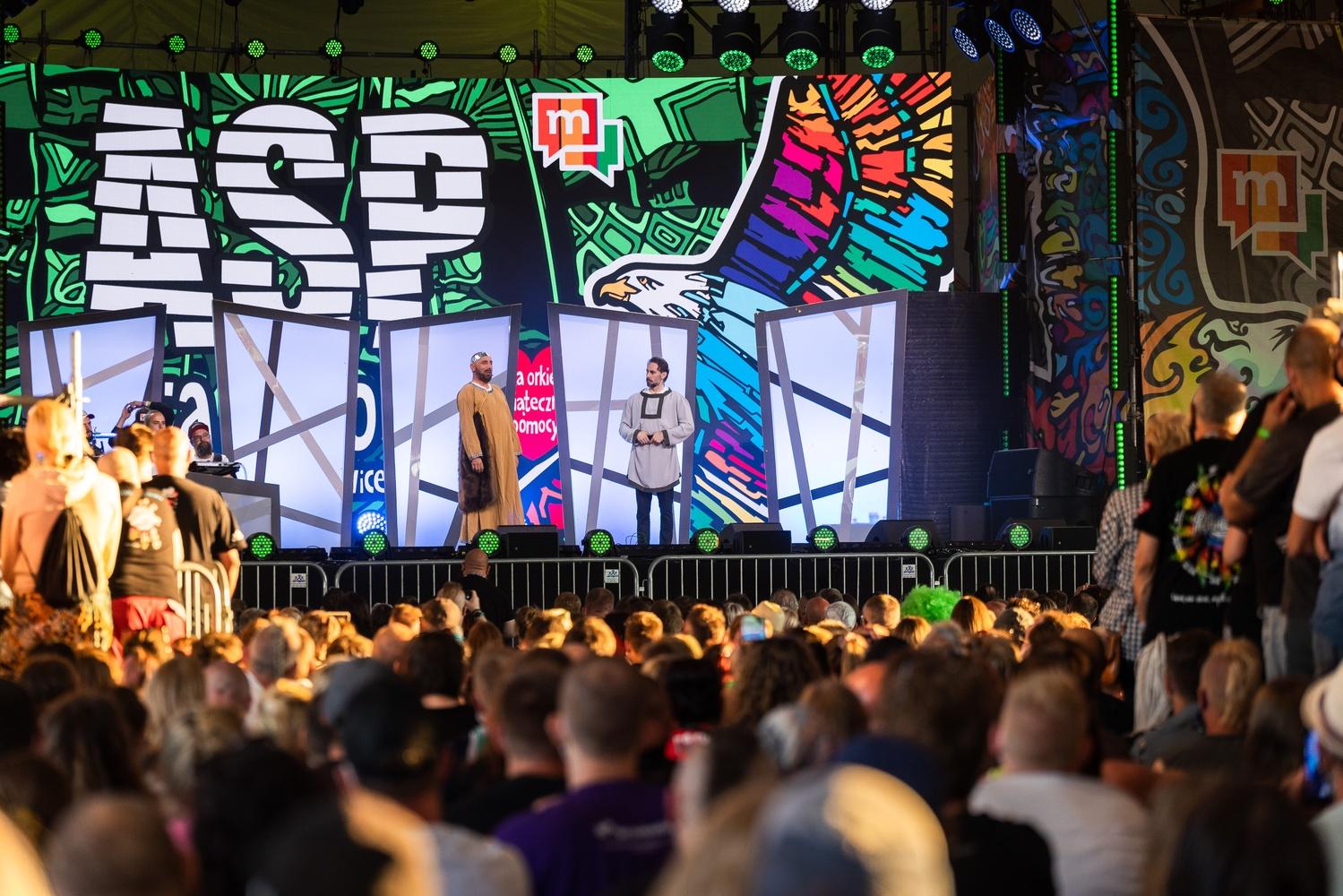 Kabaret Neo-Nówka podczas otwarcia Nocnej Sceny ASP, fot. Marcin Zieliński