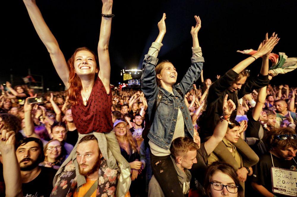 Publiczność Pol'and'Rock, fot. Fundacja WOŚP