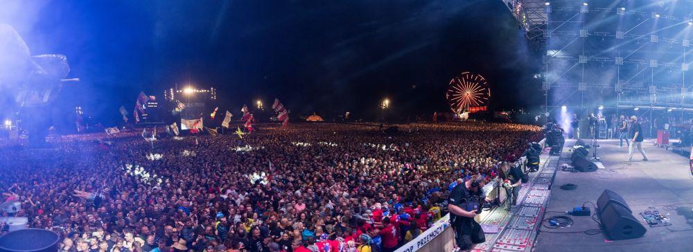 Na koncert Kultu przyszli chyba szyscy festiwalowicze fot. Stanisław Wadas