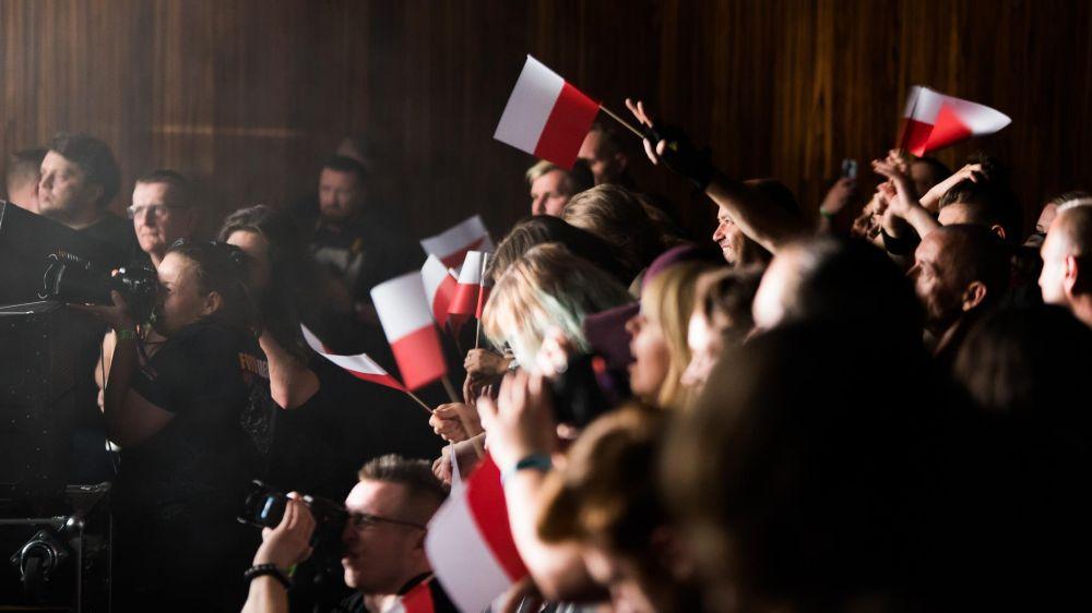 Publiczność w poznańskim Centrum Kultury Zamek podczas ELiminacji do Pol'and'Rock Festival - fot. Dawid Ilnicki